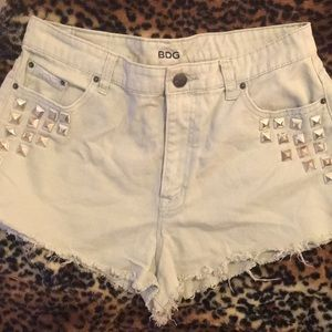 BDG Embellished Denim Shorts
